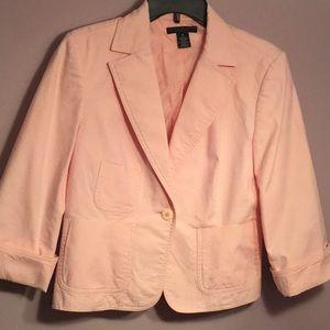 Cute Pink Apostrophe Blazer size 10